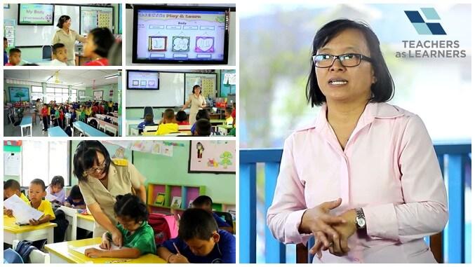 การจัดการเรียนรู้แบบ E–Learning โรงเรียนวัดสวนแตง