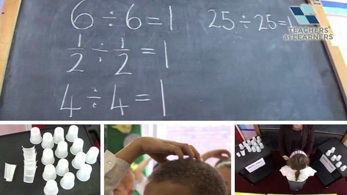 สอนหารด้วยแก้วกระดาษ - KS1/2 Maths : Just Divisions