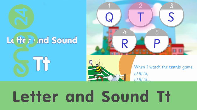 Letter and sound: Tt
