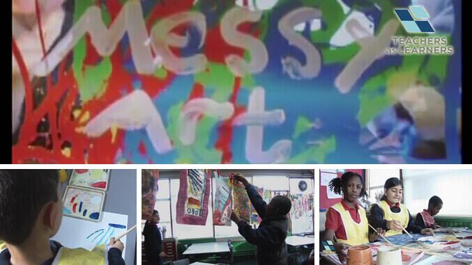 ศิลปะนามธรรมสำหรับเด็ก - KS1/2 Art : Messy Art at KS2