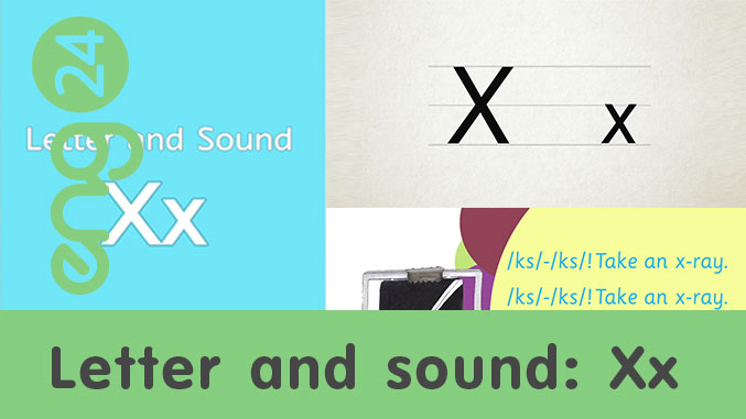 Letter and sound: Xx