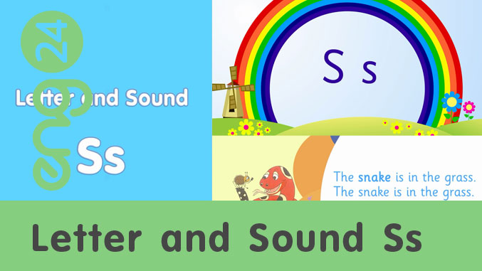 Letter and sound: Ss