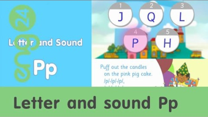 Letter and sound: Pp