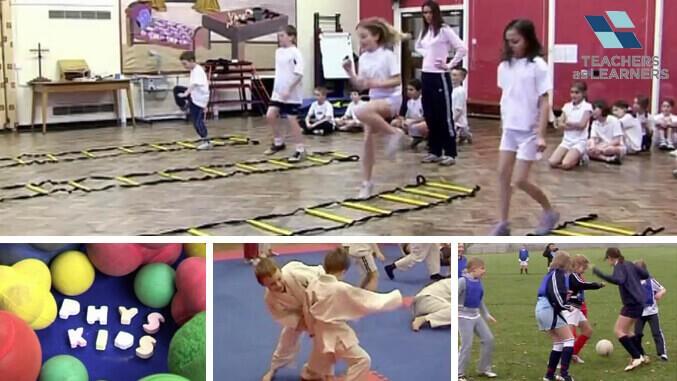 รวมพลังสร้างสุขภาพในโรงเรียน - KS1/2 : PE&Sport : Cross Phase Collaboration