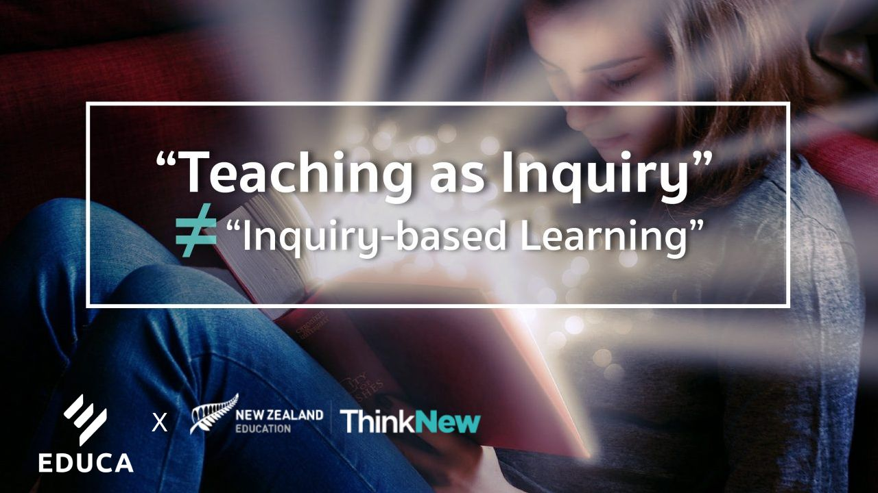 """Teaching As Inquiry"" ≠ ""Inquiry-Based Learning"""