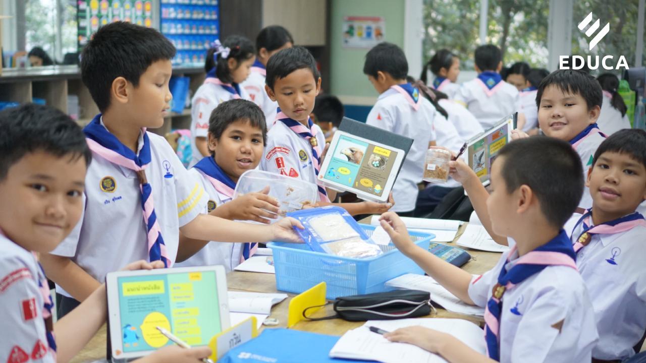 ห้องเรียนแห่งความคิดสร้างสรรค์และแรงบันดาลใจ : การจัดกิจกรรมโดยใช้โมบายแอปพลิเคชั่นเพื่อการเรียนรู้ของเด็กยุคดิจิทัล